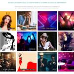 Alcuni esempi dei canali radio proposti da Jamendo Licensing