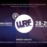 Web Radio Festival, a Roma il 28 e 29 Ottobre 2017Web Radio Festival, a Roma il 28 e 29 Ottobre 2017