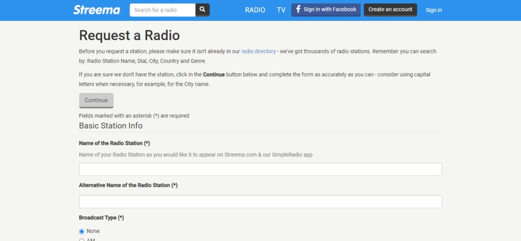 Inserisci la tua web radio su Streema, potente aggregatore molto utilizzato nel mondo
