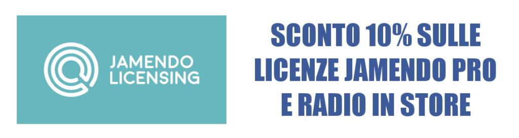 Licenze Jamendo Pro e Radio In-Store con Sconto 10%