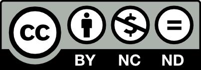 Licenza Creative Commons Attribuzione-Utilizzo Non Commerciale-No Opere Derivate